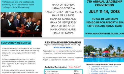 H.A.N.A. 7TH Annual Leadership Convention - July 11-14, 2018